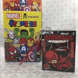 Tokidoki x marvel frenzies daredevil keychain